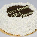 Fii făr' di griji, îi FĂRĂ ZAHĂR sau Don't worry,there's NO SUGAR  Un Tort de Ciocolată cu Frișcă pentru diabetici